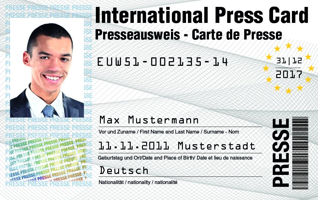 Jetzt deinen Presseausweis beantragen als Fotograf
